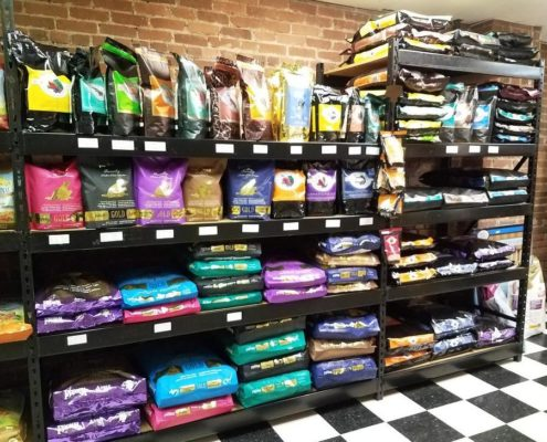 Local pets variety of Fromm dog food